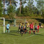 Hörna från höger för Hudiksvall!