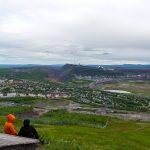 Utsikt från Luossavaara