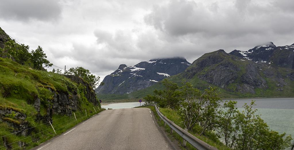 På väg till Nusfjord