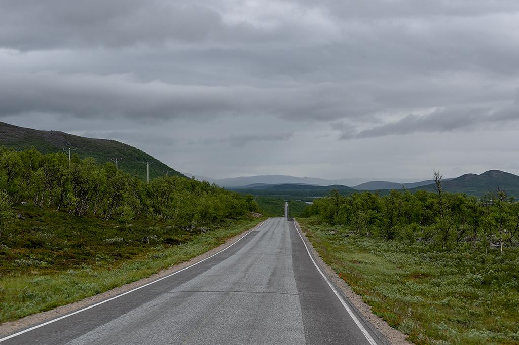 E8 norr om Sverige