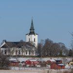 Hille kyrka, vintertid