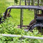 Karesuando bjöd på veteranbil